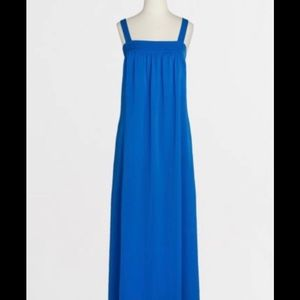 J.Crew Blue Maxi Dress Sz 10